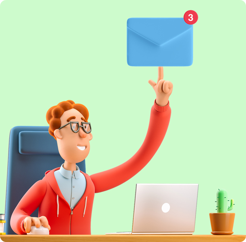 Send personalized newsletters to segmented customers.